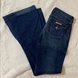 Hudson for Nordstrom flare distressed jeans
